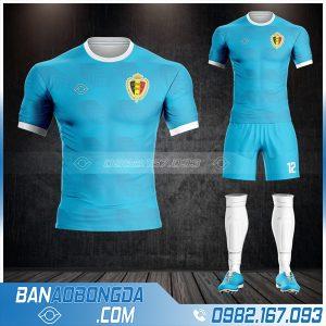 áo bóng đá đội tuyển Bỉ 2021 màu xanh ya đẹp Hz 480