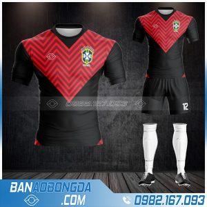 áo Brazil 2021 màu đen mới nhất HZ 486