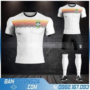 áo Brazil 2021 đẹp màu trắng HZ 488