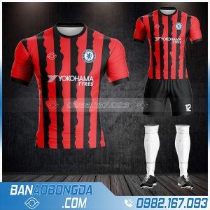 Áo bóng đá Chelsea HZ 419 màu đỏ đẹp