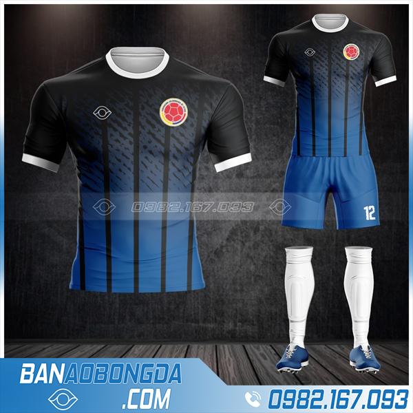 quần áo bóng đá Colombia giá rẻ HZ 492