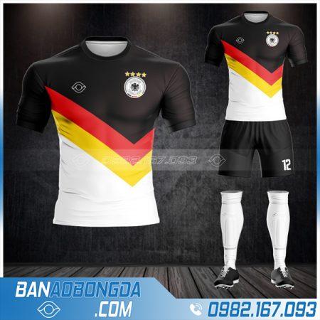 áo đội tuyển Đức may theo yêu cầu HZ 497 rẻ đẹp