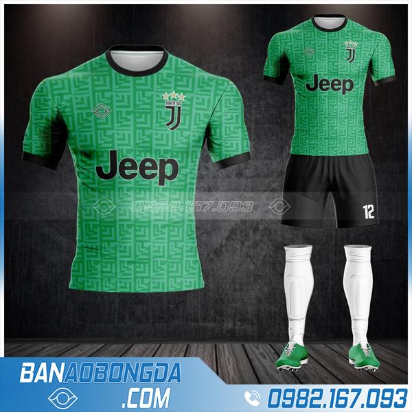 Áo bóng đá Juventus màu xanh lá HZ 439