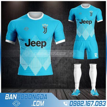 Áo bóng đá Juventus may theo yêu cầu HZ 441 đẹp