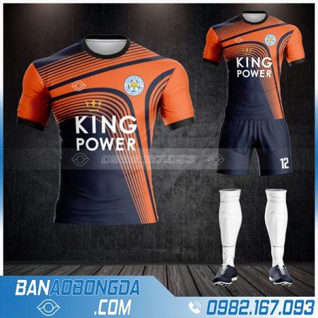 quần áo bóng đá Leicester City màu đen đẹp
