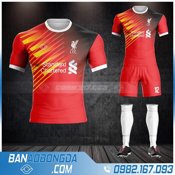 Áo clb Liverpool màu đỏ cực đẹp HZ 478