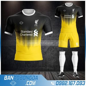 áo đấu Liverpool chế màu vàng HZ 449