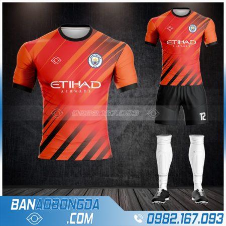 áo bóng đá Man City 2021 màu cam HZ 450