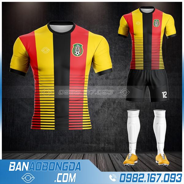 áo Mexico 2021 màu vàng được thiết kế đẹp