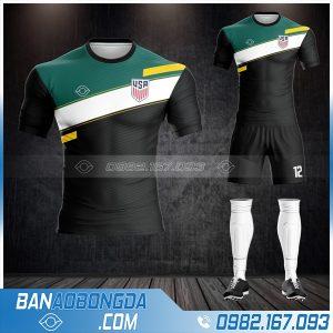 áo đội tuyển Mỹ 2021 màu đen