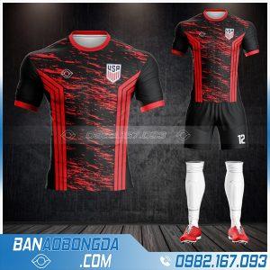 áo đội tuyển Mỹ thiết kế đẹp HZ 512