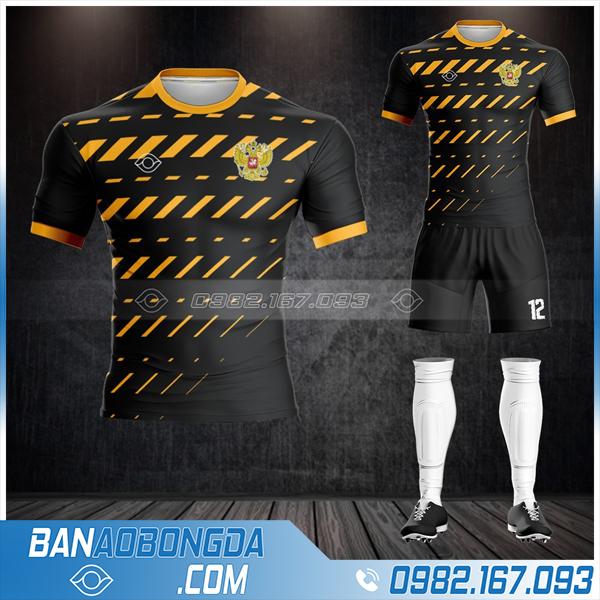 áo bóng đá màu đen HZ 514