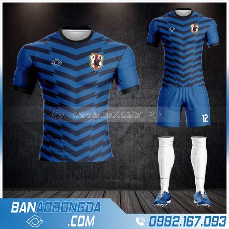 áo Nhật Bản 2021 màu xanh dương HZ 517