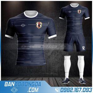 Áo bóng đá Nhật Bản màu tím than