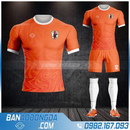 áo đấu đội tuyển Nhật màu cam HZ 519 giá rẻ