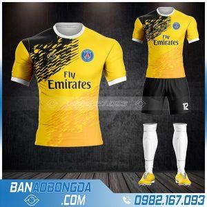 áo đấu PSG màu vàng đẹp giá rẻ HZ361