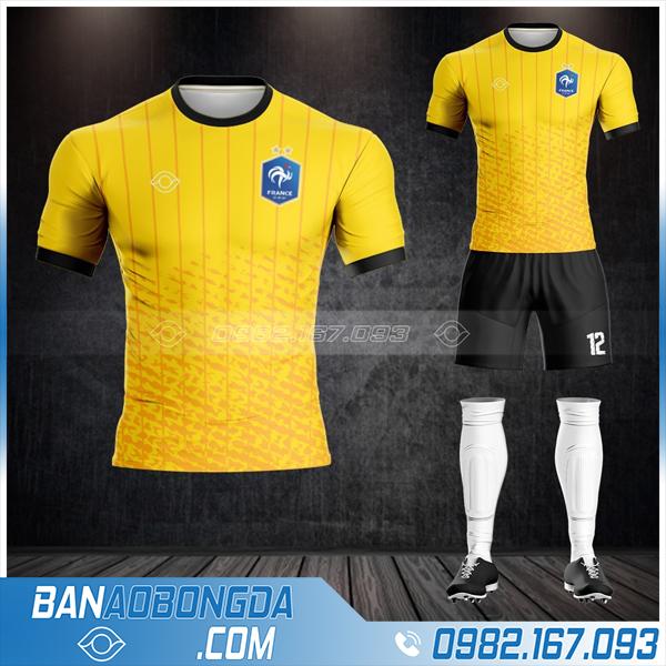áo Pháp 2020 2021 màu vàng cực đẹp