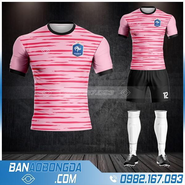 Áo Đt Pháp 2021 mới nhất màu hồng