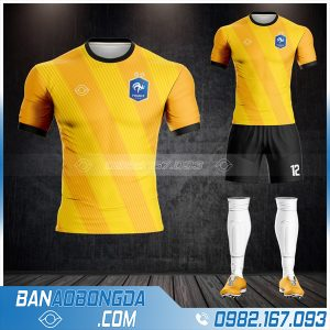 áo đội tuyển Pháp màu vàng mới nhất