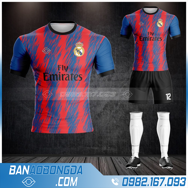 áo Real madrid mới và đẹp nhất 2021 HZ 363