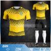 áo bóng đá đội tuyển Thụy điển mới nhất HZ 529
