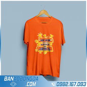 áo lớp giá rẻ HZ 10 màu cam cực chất