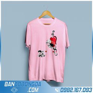 áo lớp màu hồng cực chất HZ 57