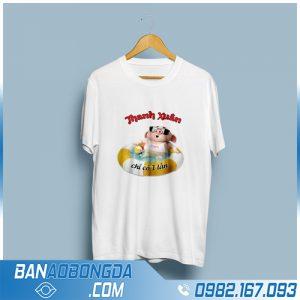 áo phông đồng phục cotton giá rẻ HZ 89