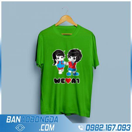 may áo phông đồng phục giá rẻ HZ 118