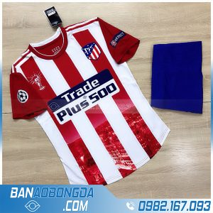 áo Atletico Madrid 2021 training 1 màu đỏ