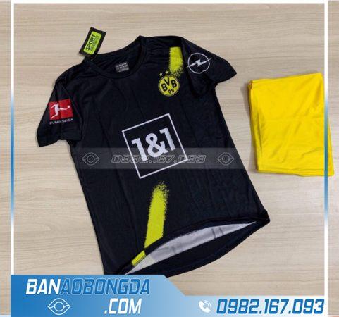 áo Dortmund 2021 sân khách chính thức màu đen