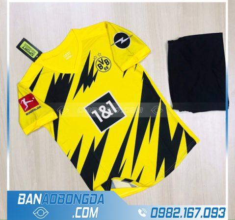 Áo bóng đá Dortmund 2021 sân nhà màu vàng