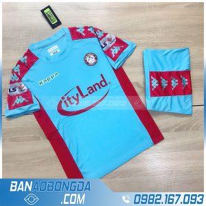 áo câu lạc bộ Hồ Chí Minh màu xanh da trời