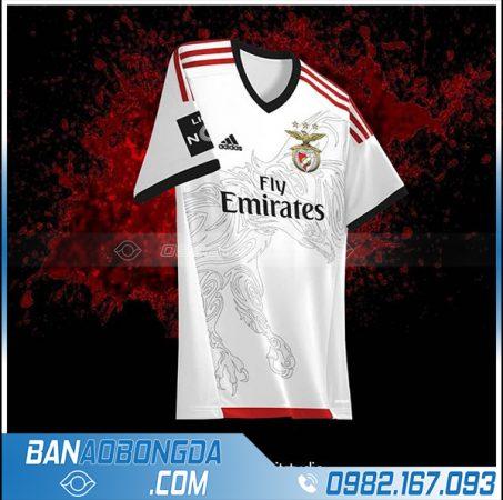 áo bóng đá đt Nga tự chế HZ 542 màu trắng