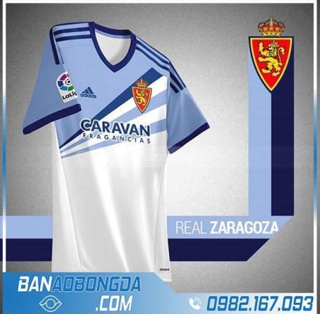 áo bóng đá công ty đẹp HZ 547 màu trắng