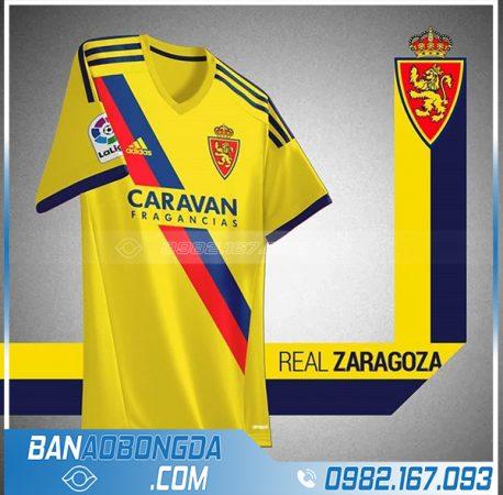 áo bóng đá chế màu vàng HZ 460