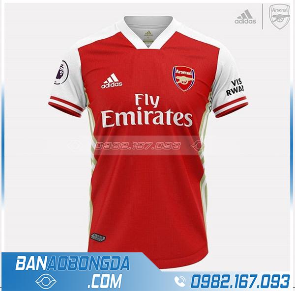 áo Arsenal tự thiết kế HZ 548 màu đỏ