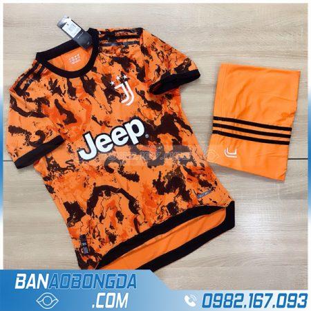 áo Juventus 2021 màu cam mới nhất