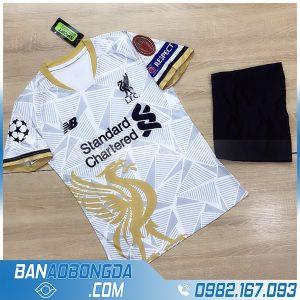 quần áo bóng đá Liverpool 2021 màu trắng