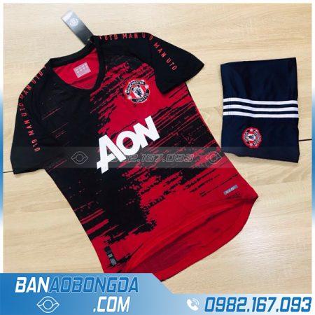 áo bóng đá Manchester United chế màu đỏ