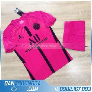 áo PSG 2021 training màu hồng đậm