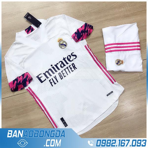 áo Real madrid 2021 sân nhà chính thức