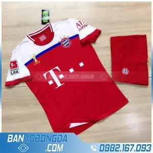 áo bóng đá Bayern Munich training 3 màu đỏ