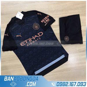 áo Man city 2021 chế màu đen đẹp và độc