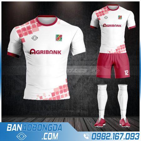 áo bóng đá ngân hàng Agribank thiết kế HZ 558