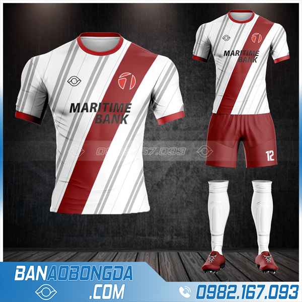 áo bóng đá ngân hàng Maritime Bank HZ 561