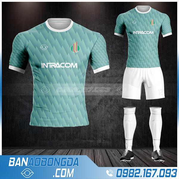 quần áo bóng đá công ty Intracom HZ 566 cực chất