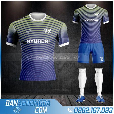 áo đá banh công ty Huyndai HZ 567