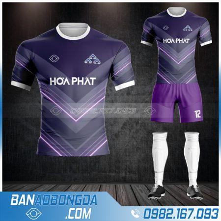 đồng phục bóng đá công ty Hòa Phát HZ 571