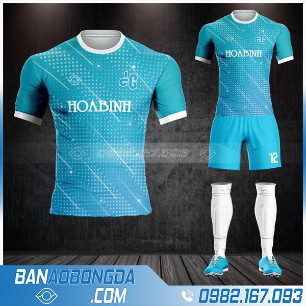 áo bóng đá công ty xây dựng Hòa Bình HZ 572